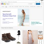 eBay Sitewide Offers | $10 off $75+ | 14% off $150+ | $20 off $100+ |
