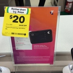 Telstra MF910V 4GX Wi-Fi $20 @ Woolworths Point Cook VIC (Featherbrook Store)
