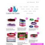 Custom Pet Collars 48 Hr Sale (E.g. Nylon & Padded Neoprene Dog Collars $13.95 + $5 Shipping, Was $30.95)