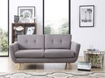 Kimberley Sofa Light Grey Two Seater for $299 (50% off) @ James Lane Clearance Penrith NSW