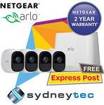 NetGear VMS4430 Arlo Pro HD with 4 HD Cameras (VMS4330 + VMC4030) $983.20 Delivered @ Sydneytec eBay