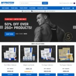 MyProtein - 50% off Selected Products - 30% off Everything
