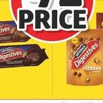 ½ Price McVities Digestive Biscuit Varieties $1.85 @ Coles
