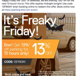 Brisbane Airport Parking - 13% off for The Next 13 Hours