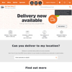 BWS Free 1 Hour Delivery on Orders over $100 Otherwise $10 (Not All Areas)