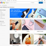 10% off Almost Everything @ eBay (Min $75 Spend, Max $500 Discount)