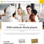 Commonwealth Bank Low Rate Mastercard Offer - $300 Cashback after Spend $1000 within 90 Days ($59 Annual Fee)