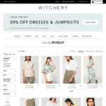 20% off Storewide Including Sale Items @ Witchery