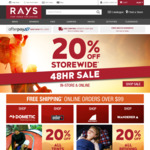 Rays Outdoors - 20% off Storewide
