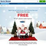 """Free 6""""X4"""" Photo with Santa @ Harvey Norman"""