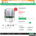 8ft HyperJump Spring Trampoline $251.69 (Pick up VIC/NSW/QLD or Shipping) @ Lifespan Kids