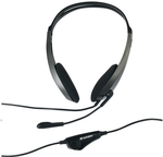 Verbatim 41646, Multimedia Headset with Adjustable Built-in Microphone Wide Frequency Stereo Headset $1.91 Shipped @ Catch