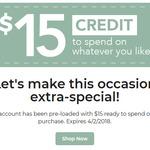 $15 Voucher for Catch.com.au (Requires Existing The Home Account)