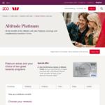 Westpac Altitude Platinum Card with Bonus 60,000 Qantas FF Points - $150 Annual Fee