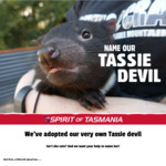 Win a Family Trip for 4 on The Spirit of Tasmania + a Family Ticket for an after Dark Feeding Tour at Devils@Cradle