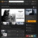 [PC] Steam - Batman Bundle (4 Games + 4 DLC) - $9.99US (~$12.65AUD) - Fanatical (Bundle Stars)