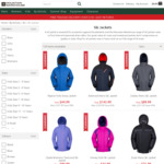 Ski/Snow Jackets Sale Up to 83% Off: e.g. Mens $35.99 (Was $143.99) + $14 Postage or Over $140 Shipped @ Mountain Warehouse