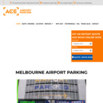 [VIC] Melbourne Ace Airport Parking - 2 Days Free (5 Days Min Stay) - (Conditions Apply)