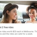 [VIC,NSW,WA] Ola Cabs: 2x $20 Credit (2 Free Rides up to $20 Each) (New Users)