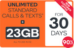 23GB Prepaid Voucher $4.90 @ Kogan Mobile (30 Days, New Customers)
