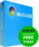 WinToUSB Professional 3.9 Free (Usually US $29.99) - Giveaway of The Day