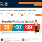 15% off all April Parking @ Brisbane Airport Parking