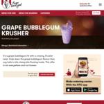 KFC Grape Bubblegum Krusher $2 (in-Store 2-5pm or in-App All Day) (Regular Price $3.95)