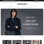 25% off @ Country Road