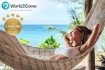 20% off World2Cover Travel Insurance via Scoopon