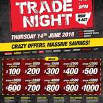 [NSW/ACT] Sydney Tools Trade Night: Receive $100 Store Credit for Every $500 Spend