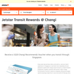 Changi SGD$20 Dollar Voucher - Now Extended to Jetstar Transit Flights