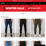 2 For $79 Denim/Chinos @ Hallenstein Brothers (20% off with Newsletter Signup)
