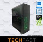 Gaming Computer Desktop PC: i5 8400 120GB/1TB 8GB DDR4 GTX 1060 6GB $845.10 + Click & Collect OR Delivery @ eBay Techfastau
