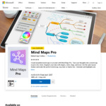 $0 Mind Maps Pro (Was $14.95) @ Microsoft