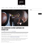 Win a Pair of Sennheiser CX Sport In-Ear Wireless Headphones Worth $199.95 from The-F