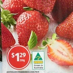 Australian Strawberries 250g $1.29 @ ALDI