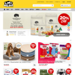 $15 off via Individual Code (Min Spend $45, Exclude Veterinary Diet) @ My Pet Warehouse