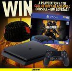 Win a Call of Duty: Black Ops 4 PS4 & BO4 Love Sac from JB Hi-Fi