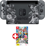 Nintendo Switch Super Smash Bros. Limited Edition Console $448.20 + $4.95 Delivery (or Free C&C) @ EB Games eBay