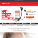 50% OFF Bioconnected Heart Rate Monitor Running Earphones AUD $148.50 Delivered @ Bioconnected