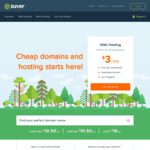Zuver: 91% or 90% off Australian cPanel Web Hosting (New Services Only)
