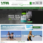 Protein - 10% Off New Customer Orders @ VPA Australia