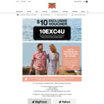 Rivers $10 off on Minimum Spend of $30
