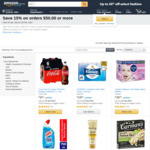 15% off $50 on Select Household & Pantry Essentials, 20% off $30 on Stationery & Work Supplies @ Amazon AU
