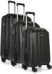 65% off Antler Global 3 Piece Expandable Hard Suitcase Set (Black or Navy) $349 + Free Delivery @ Luggage Hub