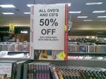 50% off DVDs & CDs at Dick Smith - Maribyrnong Homemaker (VIC)