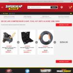 Blackridge Air Compressor 2.5HP, Tool Kit 26PC & Hose Combo Offer $294.00 @ Supercheap Auto