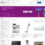20% off Selected Items @ Bing Lee eBay