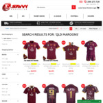 QLD Maroons 2018 On Field Jersey + Free Beanie for $69.95 Mens, Ladies $64.95 (+$7 Shipping) @ Savvy Supporter
