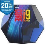 Intel Core I9 9900K $719.20 | Norton Premium 5 Users $28 | Intel Core i7 9700K 4.9GHz $575 + Delivery @ Futu eBay